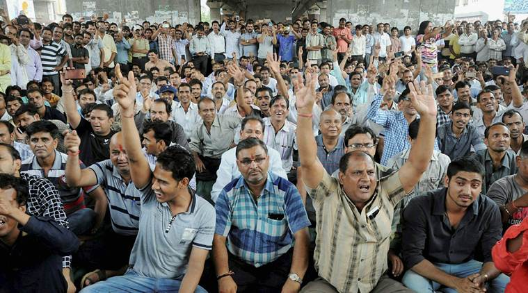 Textile Traders in Ahmedabad on Indefinite Strike, Mass Rally Held in Surat Against GST