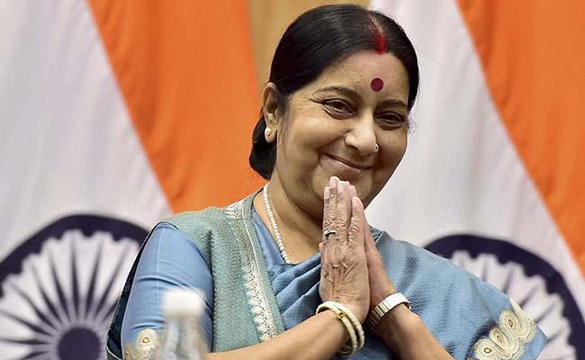 China Aiming at Unilaterally Changing Tri-Junction Status: Sushma Swaraj