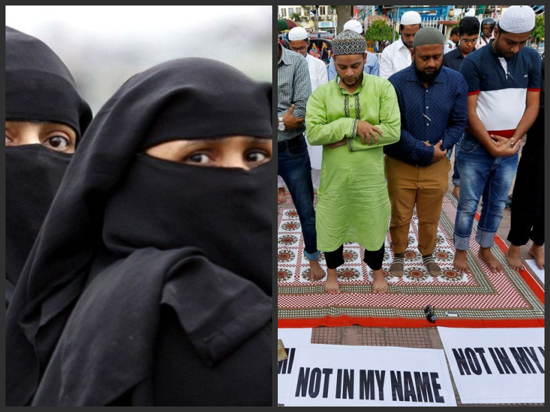 The government has effectively used triple talaq as a political whip. Credit: Reuters