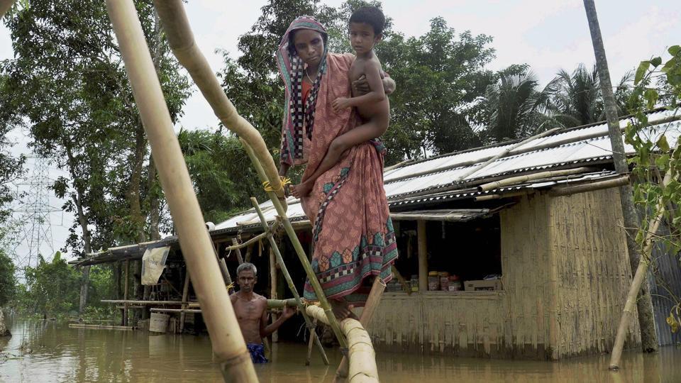 Heavy Rains in Arunachal Pradesh Trigger Landslides, Flash Floods