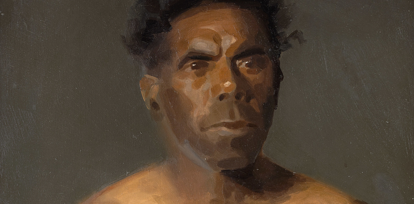 Behind a Painting: 'The Last Victorian Aborigines'