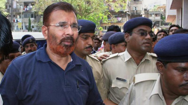 Retired Gujarat IPS officer DG Vanzara. Credit: PTI