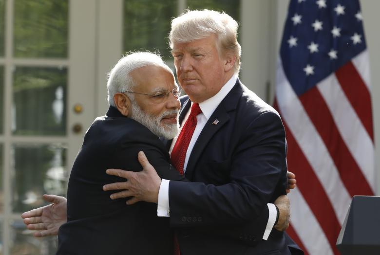 Modi, Trump Plan to Promote Peace Across Indo-Pacific Region