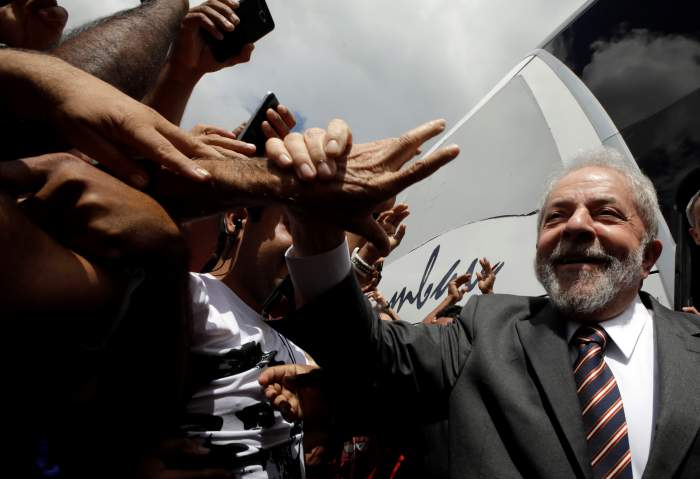 Brazil's Lula Rallies Supporters, Eyes Comeback Despite Graft Conviction