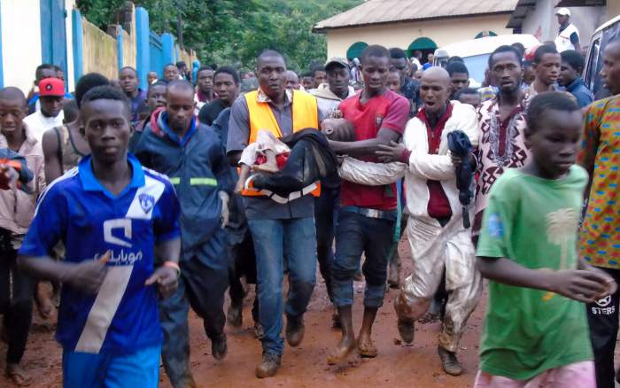 Guinea Mudslide at Rubbish Dump Claims at Least Eight Lives