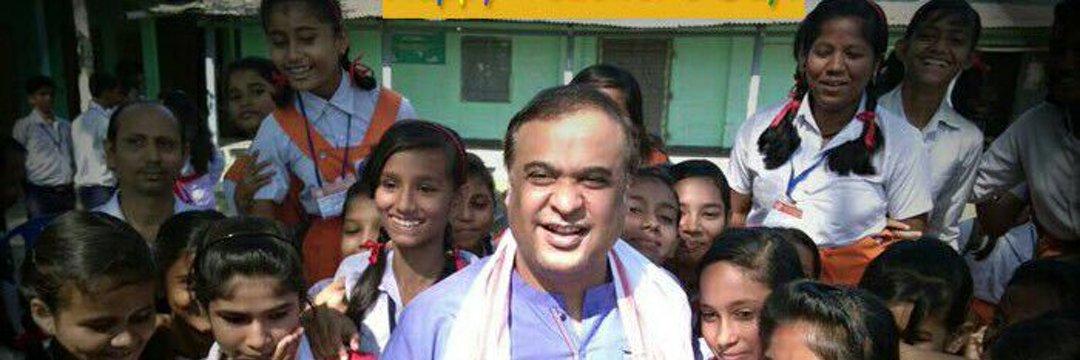Assam finance minister Himanta Biswa Sarma. Credit: Twitter