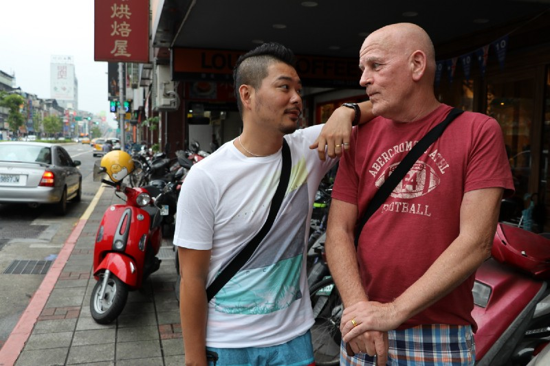 Kenny and Paul met in an underground bar in Taipei more than 20 years back and have been together ever since. They got married in Rhode Island in The States in 2014 but their marriage is still not official in the eyes of Taiwanese government. Credit: Makepeace Sitlhou