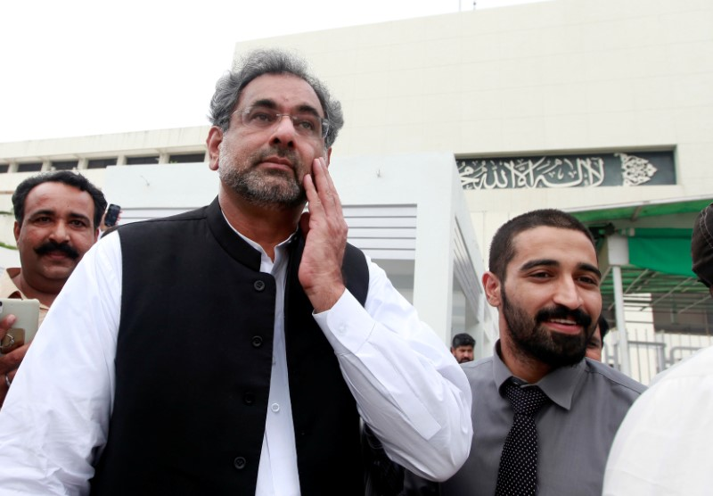 Shahid Khaqan Abbasi Elected to Replace Ousted Pakistan PM Nawaz Sharif