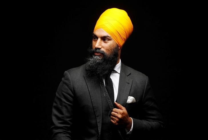 Stylish Canadian Sikh Politician Challenges Trudeau