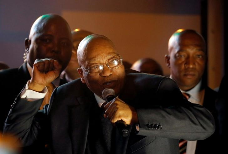 After South Africa's Zuma Vote, ANC Succession Battle Looms