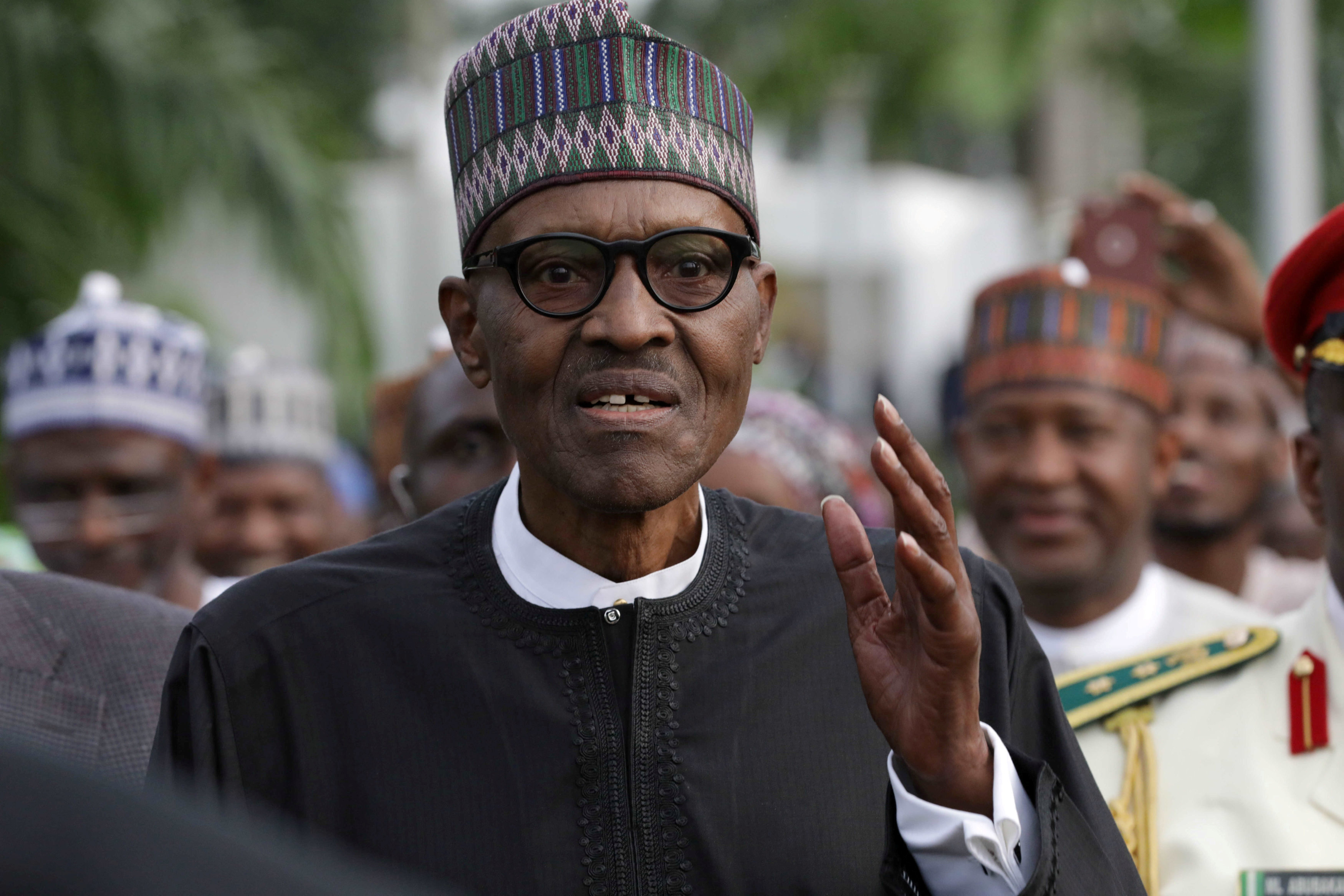 Nigeria's Buhari Rejects Separatism, Takes Back Control After Medical Leave