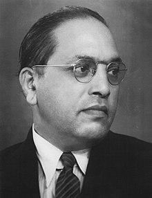 B.R. Ambedkar. Credit: Wikimedia Commons