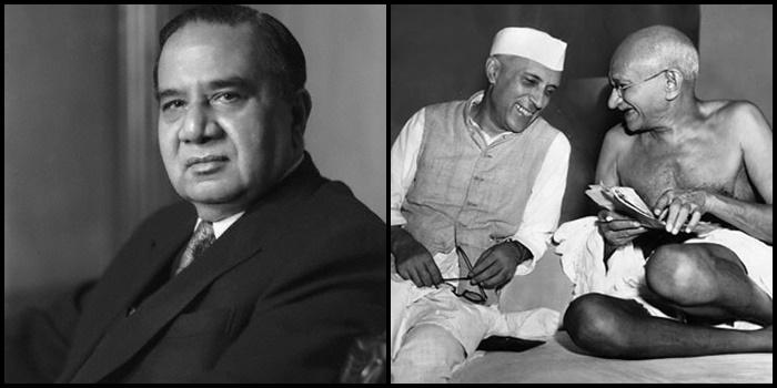 Huseyn Suhrawardy, Nehru, Gandhi