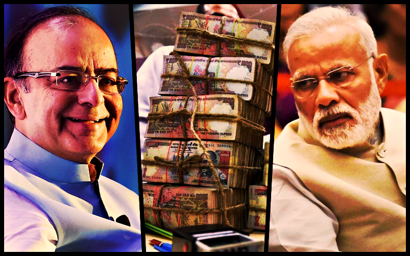 The government made a number of seemingly unrelated claims about the objectives of demonetisation. Credit: PTI