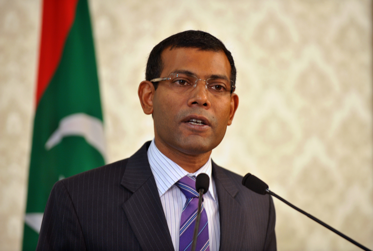 Nasheed's Claim of Land Grab Is Meant to Serve 'Certain Political Purposes': China