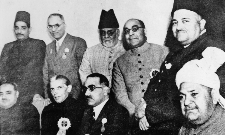 Muslim League Working Committee, Lucknow Session. Credit: Wikipedia