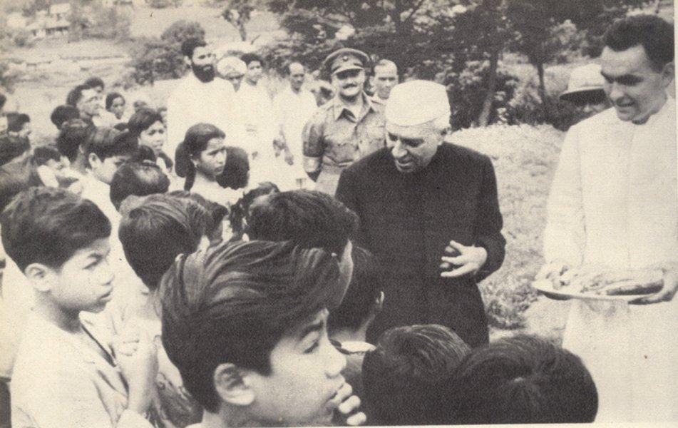 Jawaharlal Nehru. Credit: Wikimedia Commons