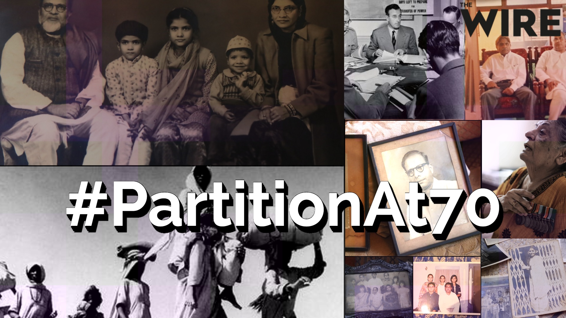 #PartitionAt70: Retrieving History From the Fractures of Memory