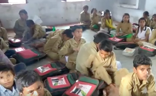 Students Present, Textbooks Absent in Bundelkhand's Schools