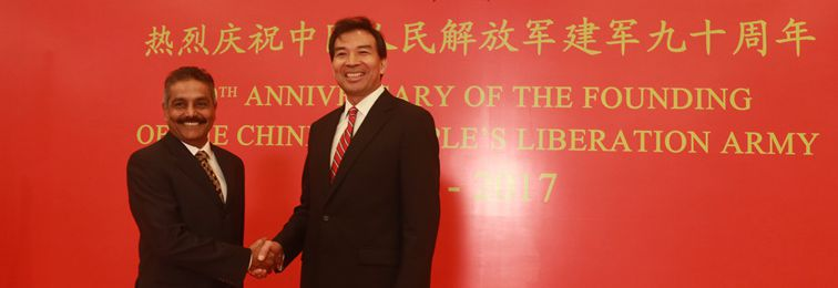 Amid Doklam Stand-Off, Chinese Embassy in India Celebrates 90 Years of People's Liberation Army