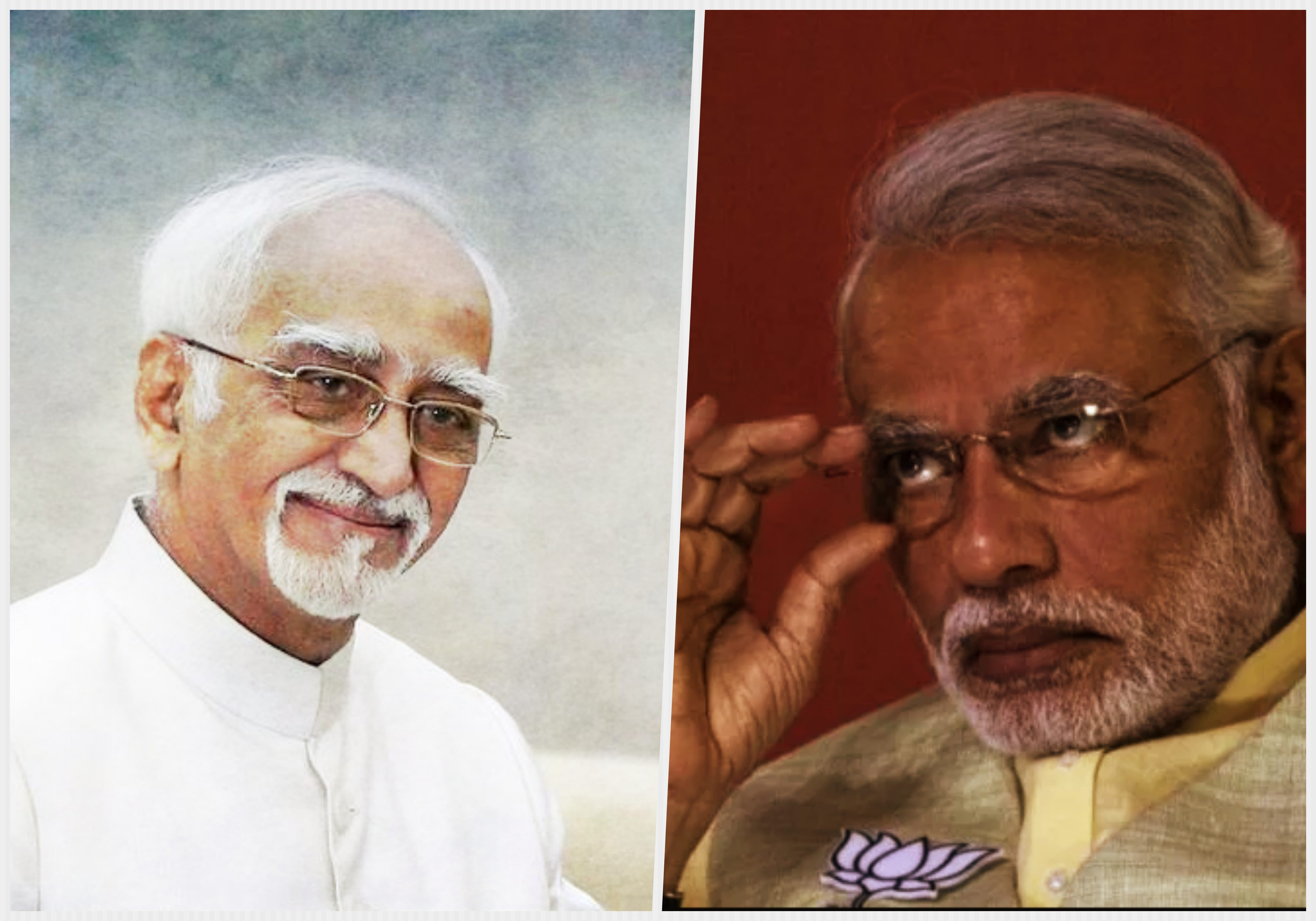 Stung by Ansari's Observations, Modi and BJP Take Potshots at Outgoing VP