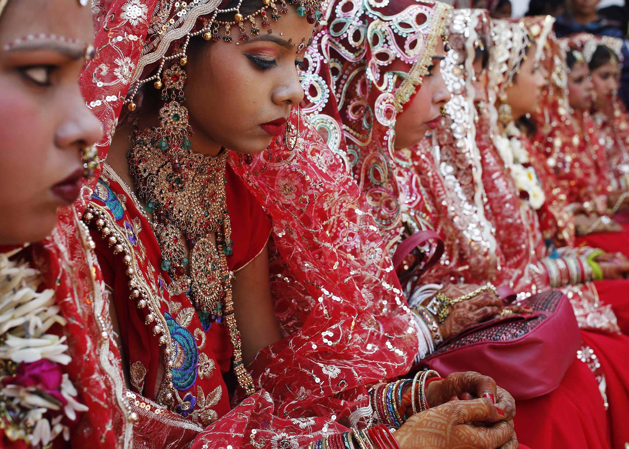 The government claimed there are 23 million child brides in the country. Representative image credit: Reuters/Anindito Mukherjee