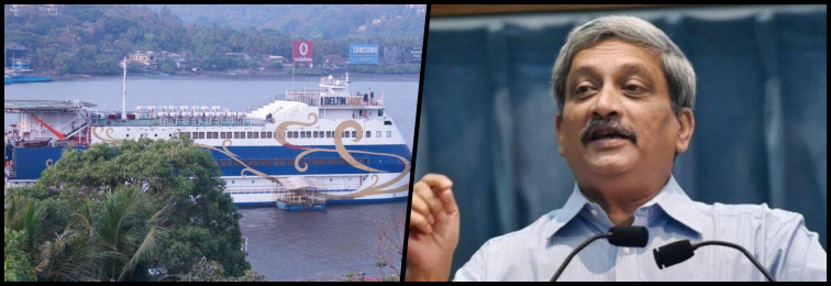 After Fighting Against Goa's Casinos, Parrikar Gives Them What They Want
