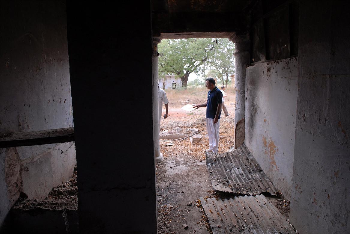 The Deoli internment camp. Credit: AIDCI website/Steve Chiu