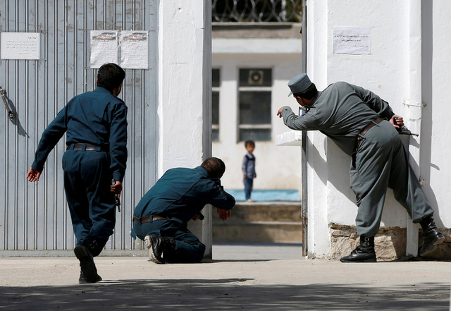 Kabul Mosque Attack: Four Year Old in Mosque Picture Called to Safety