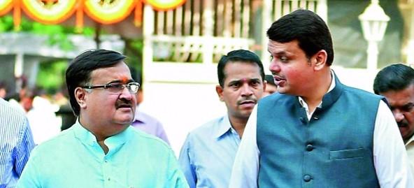 Allegations of Corruption Singe Devendra Fadnavis Government