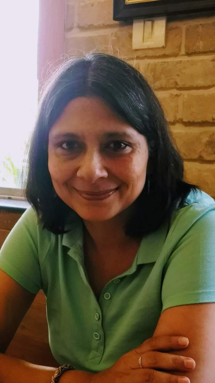 Author Manjari Katju. Credit: Vineeta Rai/ New Text