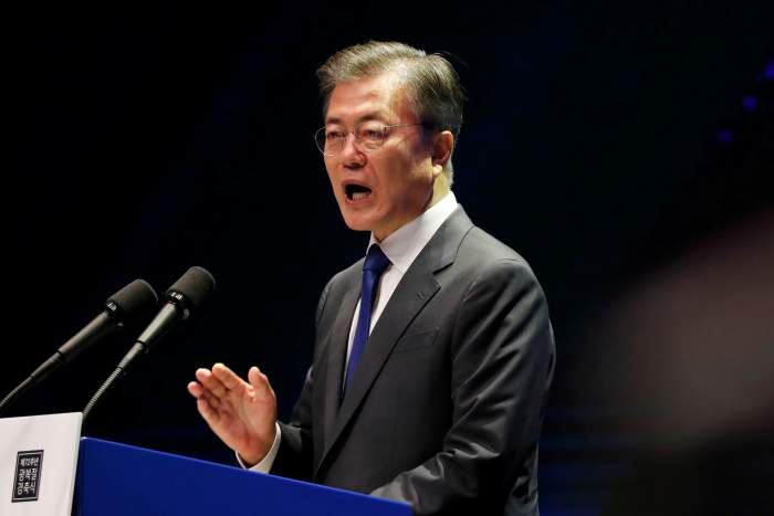 South Korea's Moon Calls North Korean ICBM Testing a 'Red Line'