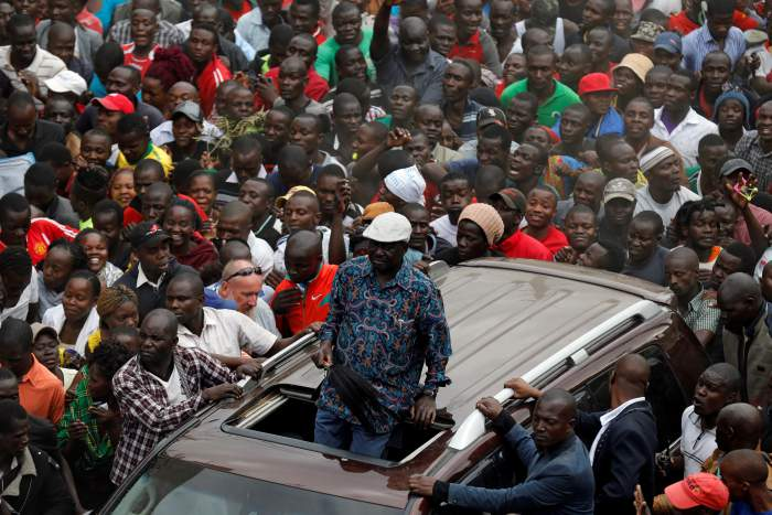 Kenyan Opposition Leader Odinga Urges Supporters to Boycott Work