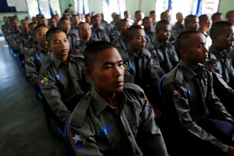 Myanmar Sends Hundreds of Troops to Rakhine State as Tensions Rise