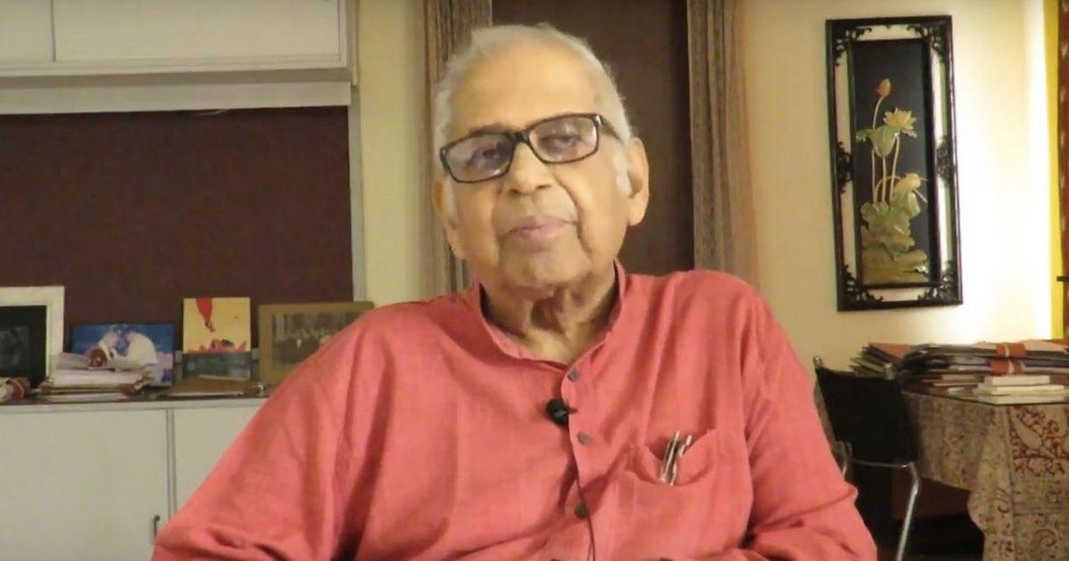 Pushpa Mittra Bhargava. Source: YouTube