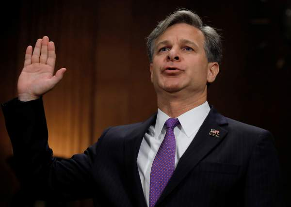 US Senate Confirms Wray as New FBI Chief Following Comey Firing