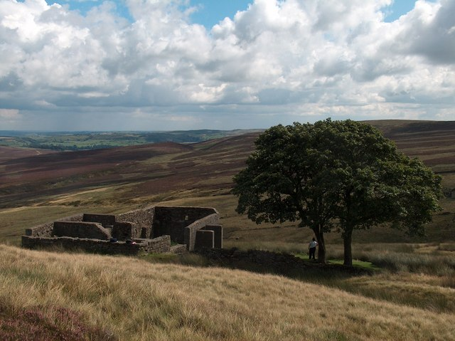 Top Withins - perhaps the inspiration for Emily Bronte's Wuthering Heights. Credit: Geograph