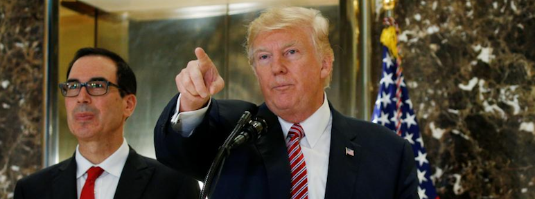 As His Administration Spirals into Crisis, Trump Beats War Drums Abroad, Plays Race Card at Home