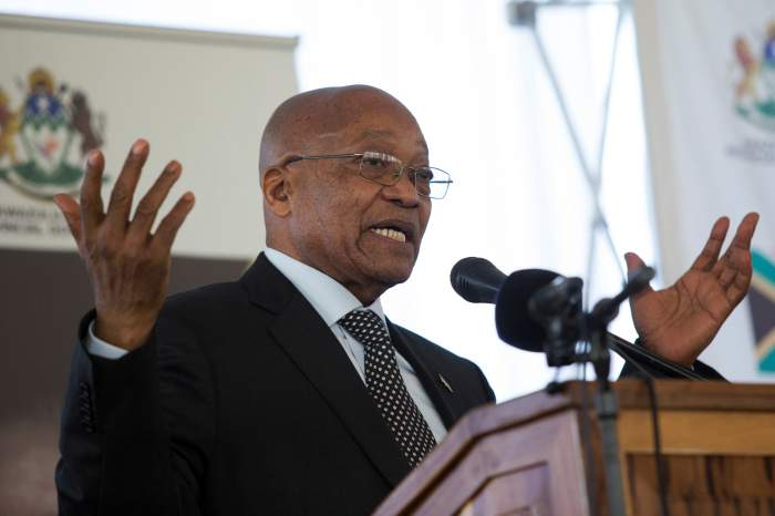 South Africa's Zuma in Precarious Position in Anonymous No-Confidence Vote