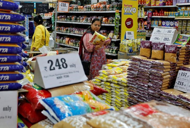 Rising Food Prices Push August Retail Inflation to Five-Month High