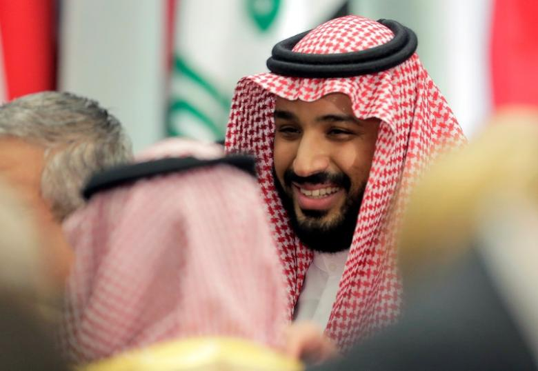 Prince Muhammad Bin Salman. Credit: Reuters/Joshua Roberts