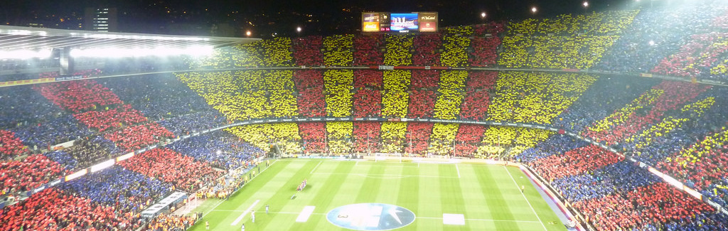 Exalted in the Catalan Freedom Scene, There's No Place Barça Would Rather Be