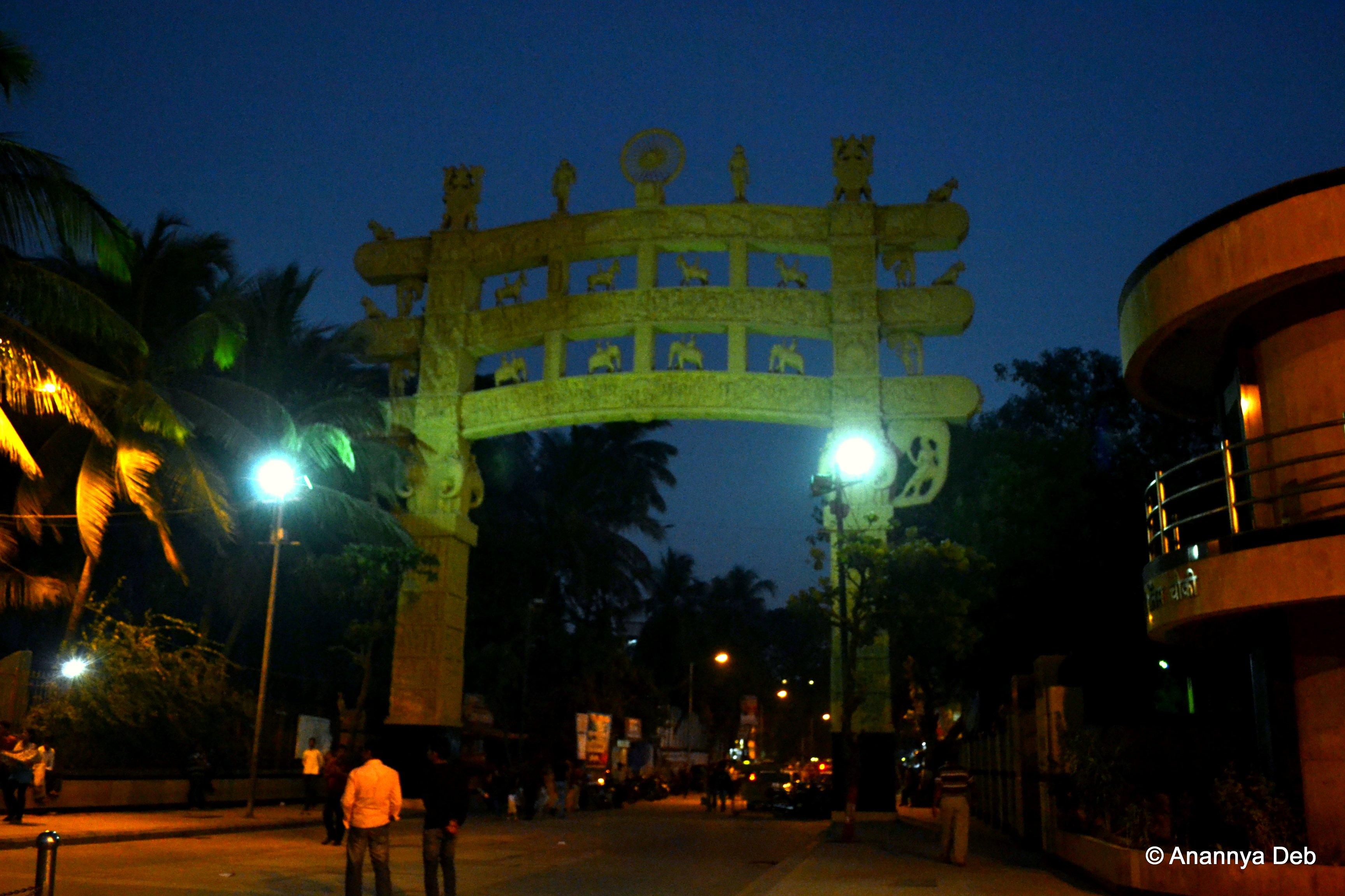 Chaitya Bhoom in Mumbai. Credit: Anannya Deb/Flickr (CC BY-NC-SA 2.0)