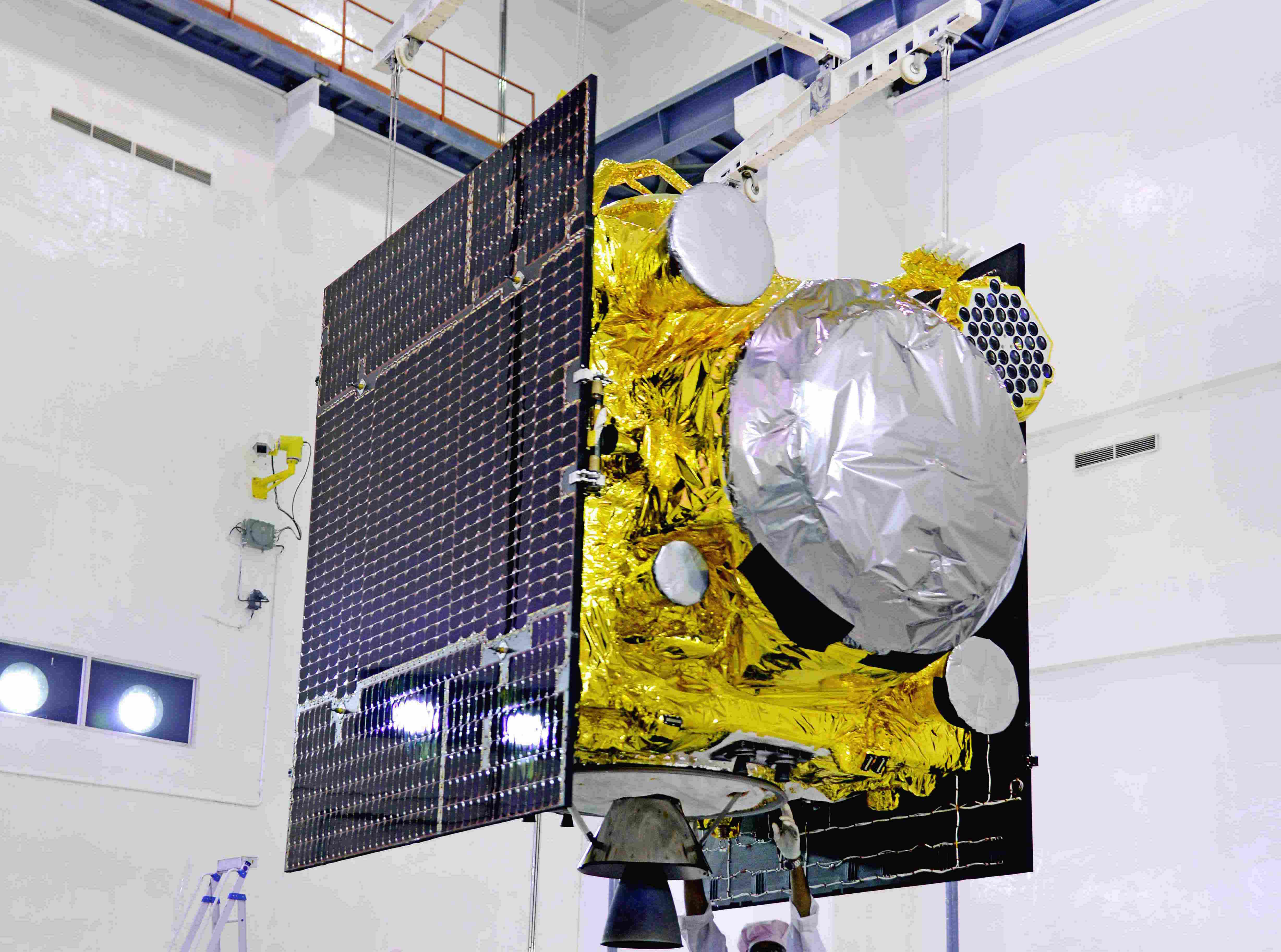 Leftovers of PSLV C39 Mission Will Fall Back Towards Earth in Two Months