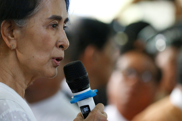 Aung San Suu Kyi Denies Going 'Soft' on Military