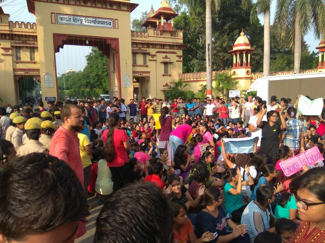BHU Students Protest Administration's Inaction, Victim-Blaming in Molestation Case