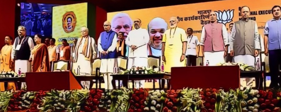 At BJP National Executive Meet, Line Between Government and Party Blurs