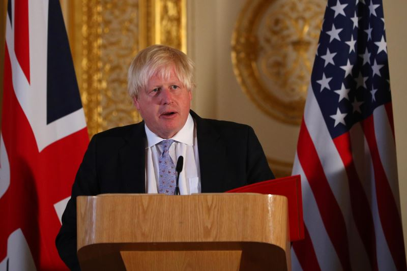 Britain's Boris Johnson Faces 'Backseat Driving' Charge on Brexit