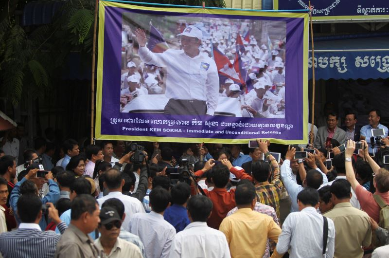 Cambodia's Opposition Rallies for Leader Kem Sokha's Release