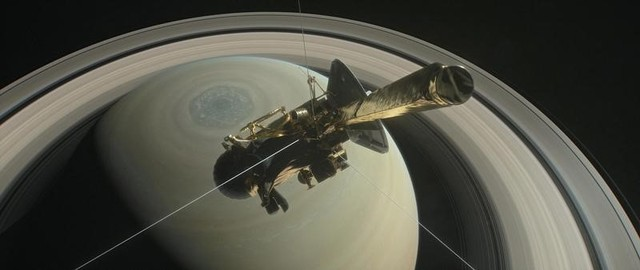 US Spacecraft Cassini Readies for Fiery Plunge Into Saturn After 13-Year Mission